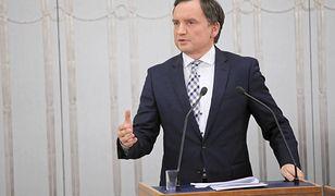 Zbigniew Ziobro przedstawi stanowisko rządu ws. ustawy dyscyplinującej sędziów