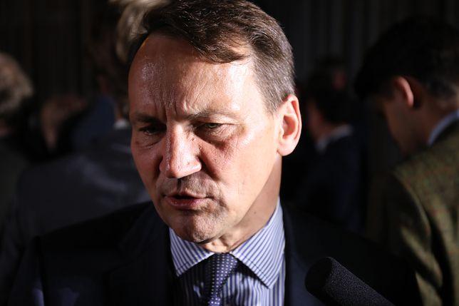 Radosław Sikorski pytany był również o Donalda Tuska