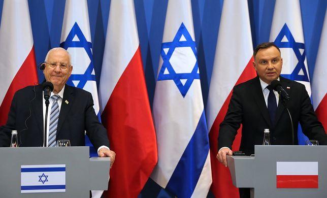 Rocznica wyzwolenia obozu Auschwitz-Birkenau. Prezydenci Izraela i Polski wydali oświadczenia