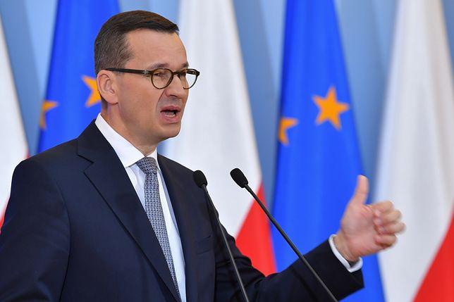 Rekonstrukcja rządu. Premier Mateusz Morawiecki przedstawia skład nowej Rady Ministrów