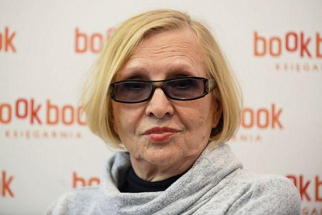 Maria Nurowska nie może pogodzić się z niespodzianką, jaką zafundował opozycji Wojciech Kałuża
