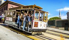 San Francisco - miejski rollercoaster