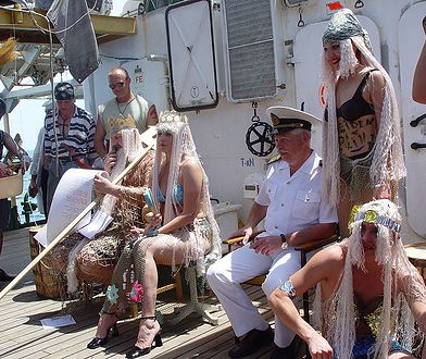 Chrzest równikowy to zwyczaj, który na polskich okrętach świętuje się od niespełna stu lat