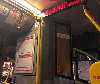 Linia 741: głośna muzyka, rozmowy z kierowcą i zmiana trasy