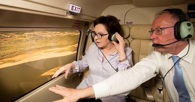Ewa Kopacz latała rządową flotą 47 razy