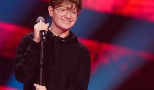 """Pokazał siłę. Krystian Gontarz ponownie na scenie """"The Voice Kids"""""""