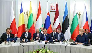 Andrzej Duda był gospodarzem szczytu B9 w Warszawie