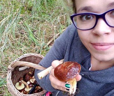 Ania zbiera grzyby w każdej wolnej chwili
