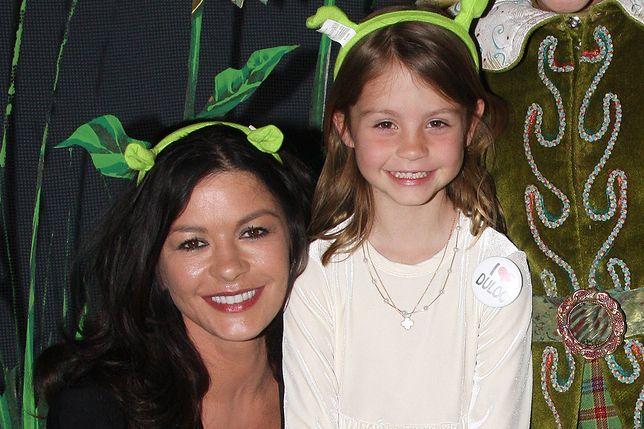 Catherine Zeta-Jones i jej córka Carys Zeta-Douglas kilka lat temu