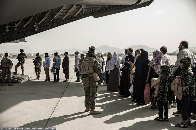 Ewakuacja z Afganistanu. Do Niemiec przylecieli też przestępcy