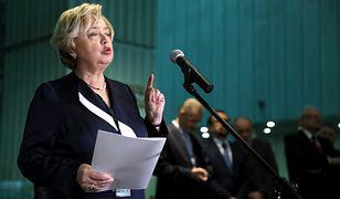 Małgorzata Gersdorf wystąpiła w piątek przed Senatem