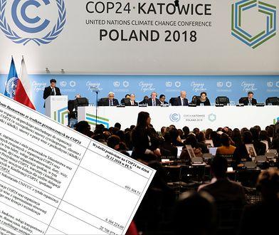 """Wiemy, ile kosztował szczyt w Katowicach. Miał być """"milowym krokiem"""" w walce o lepszy klimat"""