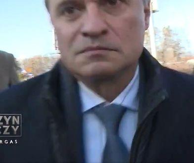 """""""Szarża"""" Leszka Czarneckiego na ekipę TVP. Roman Giertych: Kolejny skandal pseudodziennikarzy"""