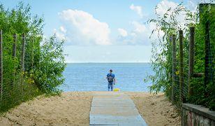 Nowe toalety na plaży w Gdańsku po wakacjach. Rychło w czas