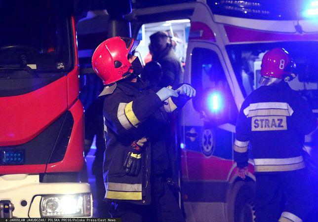 Szczecin. Nocny pożar, wśród poszkodowanych dziecko