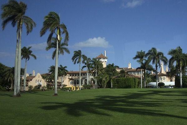 Prezydent Donald Trump pojechał na weekend na Florydę