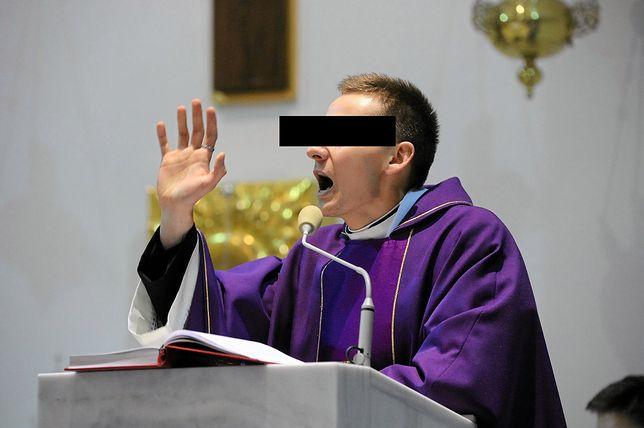 Były ksiądz Jacek M. z zarzutami. Grożą mu 2 lata więzienia