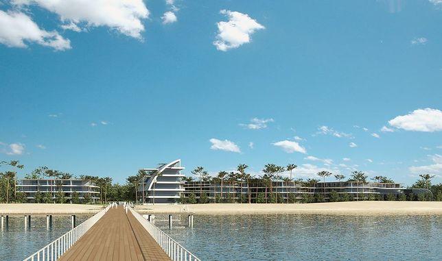 Hotel będzie posiadał prywatną plażę oraz molo
