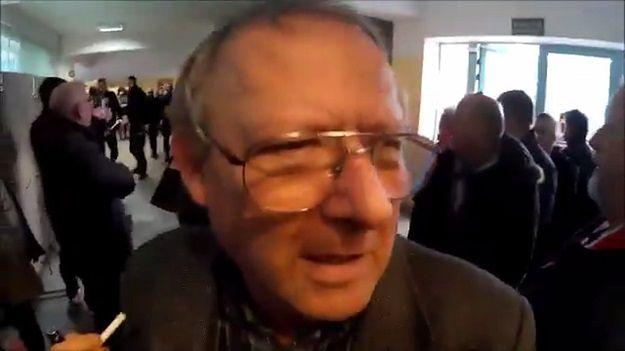 Jest nowe wideo z awantury ONR na spotkaniu z Michnikiem