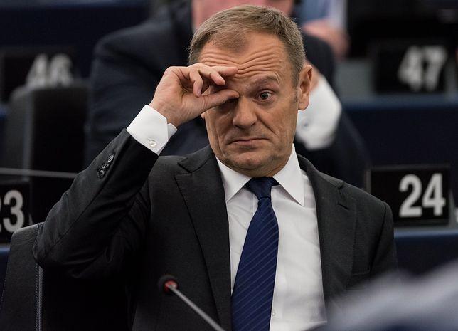 """Donald Tusk mówił o brexicie. Reakcja? """"Goń się, Donek"""""""