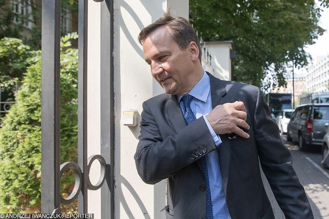 Radosław Sikorski miałby wystartować w wyborach do PE w 2019 roku