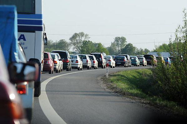 Blokada drogi krajowej 25 na Pomorzu. Protest mieszkańców Brzezia