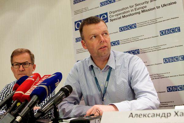 OBWE apeluje o demilitaryzację Szyrokyne