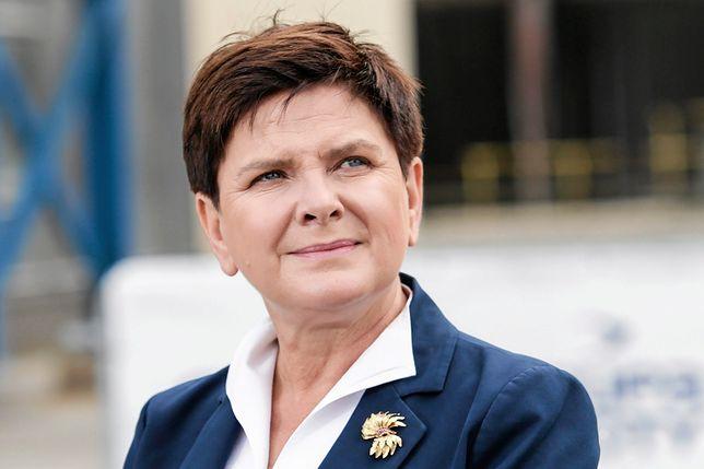 Beata Szydło nie odpowiedziała wprost, czy pozostanie na stanowisku