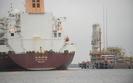 Metanowiec LNG w Świnoujściu. Statek rozładowany, wraca do Kataru szybciej niż było w planie