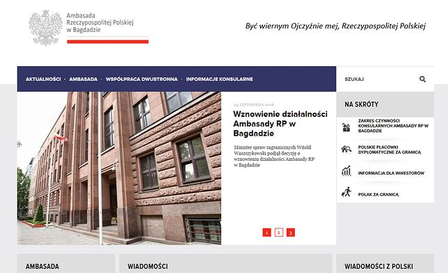 """Kontakt do oszustów na stronie polskiej ambasady? """"Przelew za wizę"""""""
