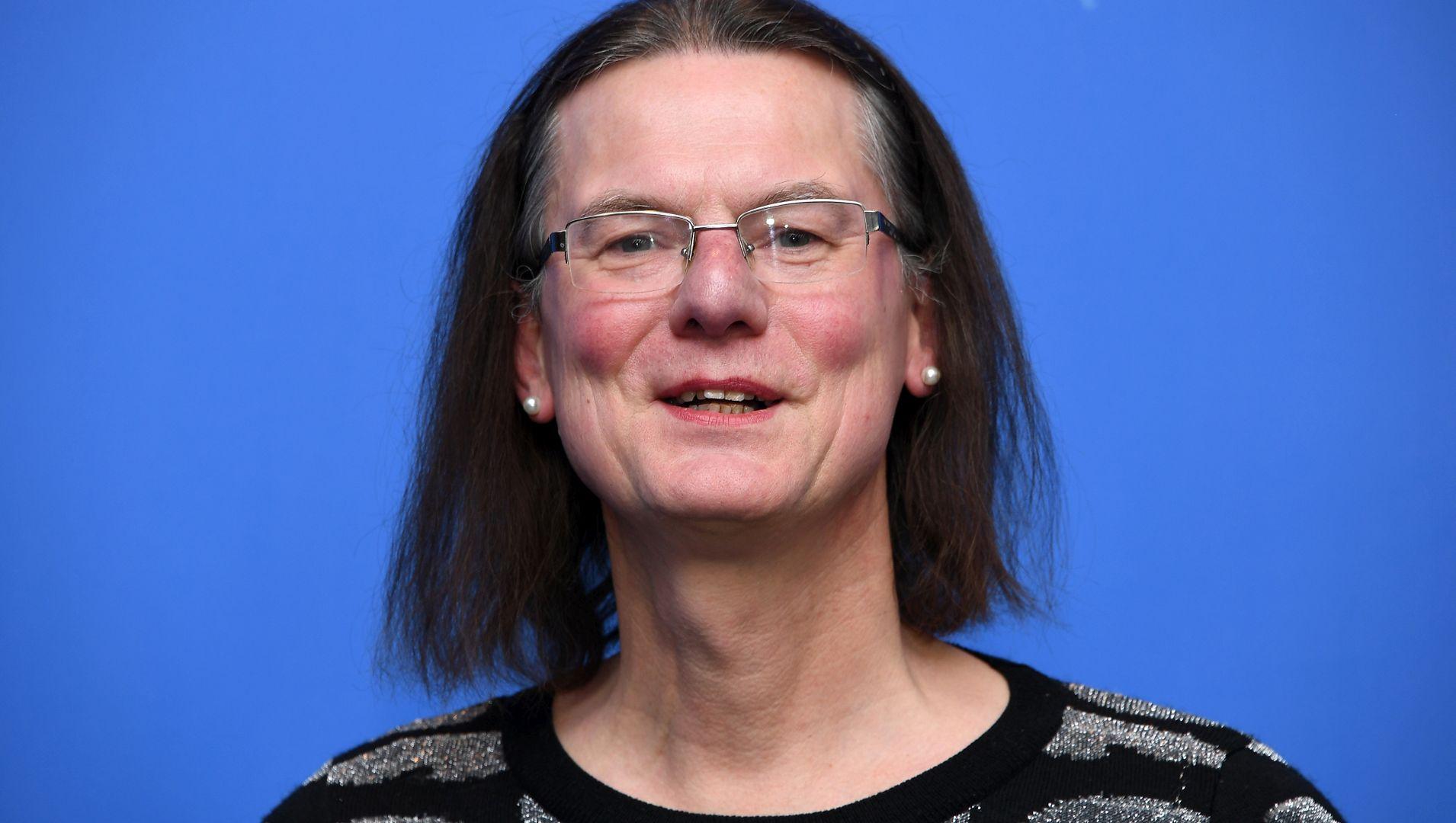 Transseksualna prostytutka Hanna Hofmann podczas festiwalu Berlinale