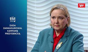 Wybory prezydenckie 2020. II tura bez Andrzeja Dudy? Róża Thun o rewolucyjnych sondażach