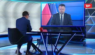 Cezary Tomczyk krzyczał przez megafon do Samuela Pereiry z TVP. Marcin Kierwiński tłumaczy
