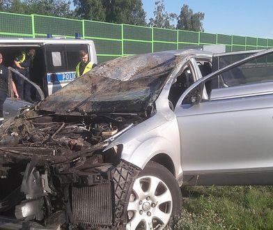 Śmiertelny wypadek na A1. Aresztowany kierowca audi