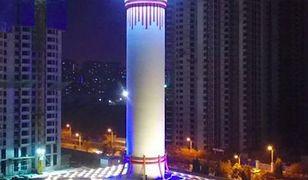 Ogromna wieża ma chronić miasta przed smogiem.