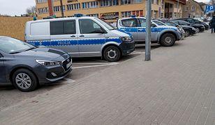 Do ataku nożownika doszło przed komendą w Białymstoku