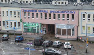 Dziewczynka trafiła do Radomskiego Szpitala Specjalistycznego