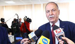 """Ryszard Proksa, szef oświatowej sekcji """"Solidarności"""""""