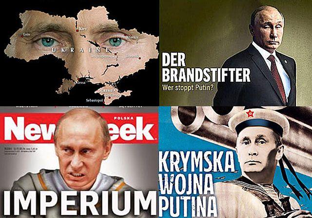 Putin na okładkach. Obraźliwe, ale skuteczne? - zdjęcia