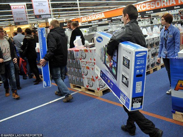 Sprzęt RTV i AGD może być w zagranicznych sklepach znacznie tańszy, niż w Polsce