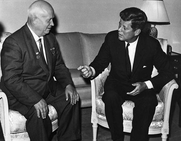 Nikita Chruszczow i John F. Kennedy