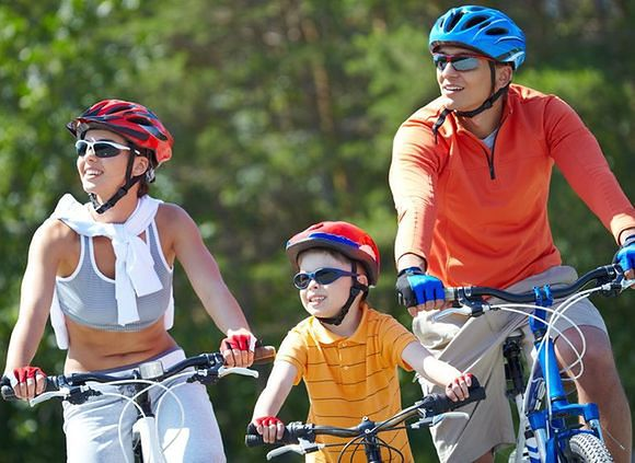 Weekend z dzieckiem na rowerach w Małopolsce to świetna forma spędzenia wspólnie czasu