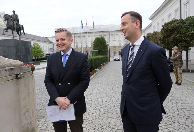 Jakub Stefaniak i Władysław Kosiniak-Kamysz