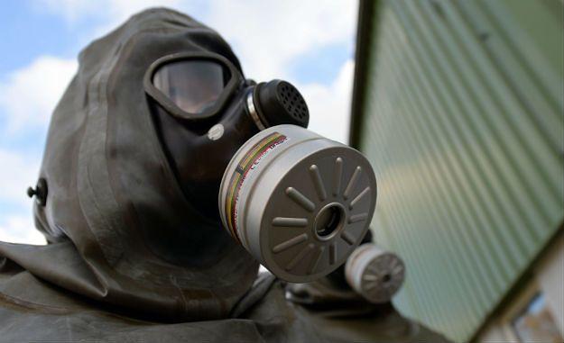 USA znalazły ślady broni chemicznej na pociskach Państwa Islamskiego