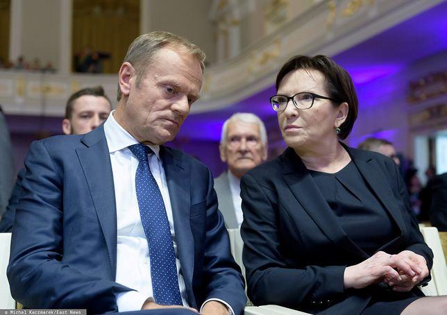 Strasburg. Donald Tusk spotkał się z Ewą Kopacz na zapleczu Parlamentu Europejskiego?