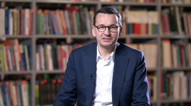 Wybory parlamentarne 2019. Mateusz Morawiecki odpowiadał na pytania na Facebooku. Wspominał ojca