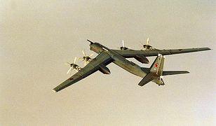 Rosyjski bombowiec Tu-95