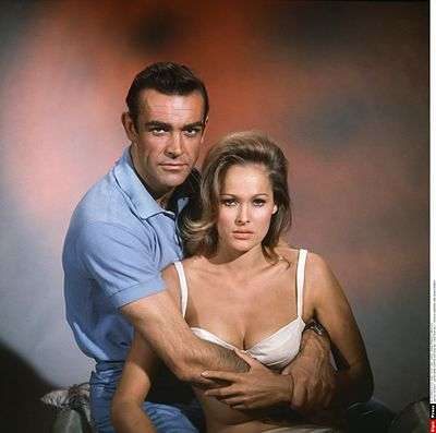 "Sean Connery jako ""Doctor No"""