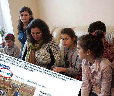 Ukraińska rodzina dostała zgodę na pobyt humanitarny w Polsce