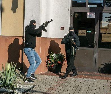 """Terroryści"""" pojawili się również w szkole w Pasłęku"""